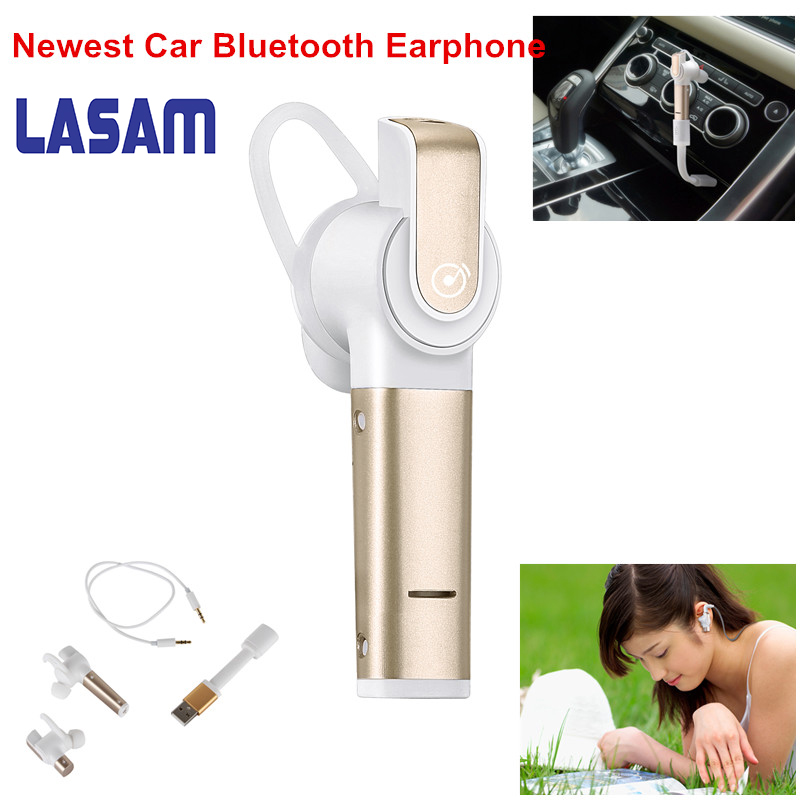 Newest Wireless Stereo V4.0 Bluetooth Business headphones phone bluetooth headset Car Driver Handsfree earphone With Mic 2017 remax 2 in1 mini bluetooth 4 0 headphones usb car charger dock wireless car headset bluetooth earphone for iphone 7 6s android
