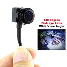 SMTKEY 700TVL renkli video kamera geniş açılı Görüş Küçük Mini kamera 140 derece balık gözü lens mikro mini güvenlik kamera