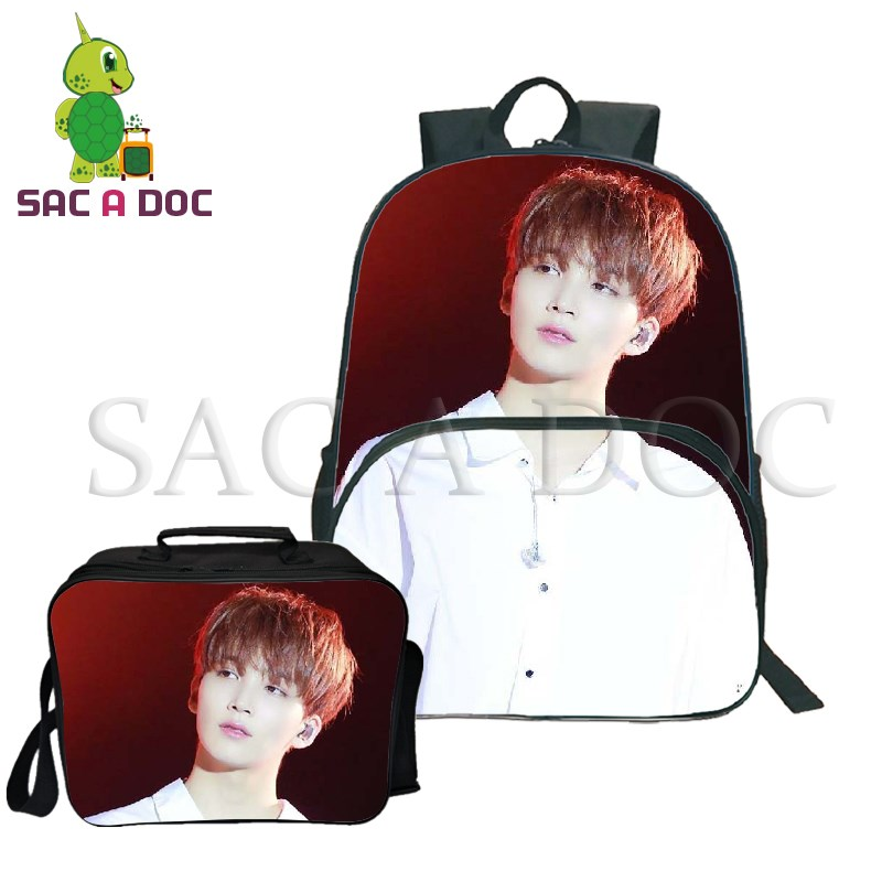 Backpacks 2019 Fashion Seventeen Backpack Multifunction Usb Charging School Bags For Teenagers Travel Rucksack Joshua/jun/hoshi Fans Laptop Backpack Attractive Fashion