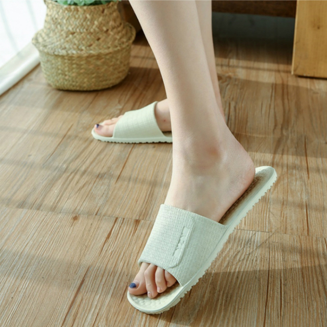 Folding Bathroom Slippers Uncategorised Footwear Women color: Gray|Khaki|light green|Navy|Pink|Sky Blue