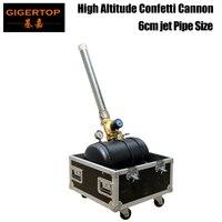 TIPTPO Bühne Licht TP-T195 Hohe Abstand Papier Konfetti Kanone CO2/N2/Gas Kompressor Direkte Elektrische Power Versorgung spray