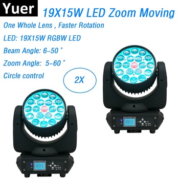 2 Units Free Shipping 19X15W RGBW 4IN1 LED Moving Head Lights Zoom / Wash Stage Lights DMX Control Disco Lights LED Moving Head exponentially weighted moving average control chart