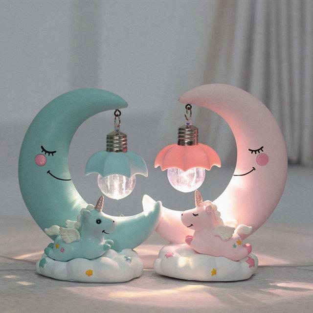 UNICORN MOON LED LAMP