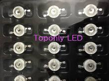 3w Epistar ir high power led beads lamp 850nm infrared led lighting source for greenhouse growing&security equipments 800pcs/lot