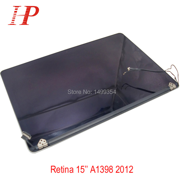 Original Notebook Parts LCD Screen Display Assembly For Apple Macbook A1398 MC975 MC976 15 Inch