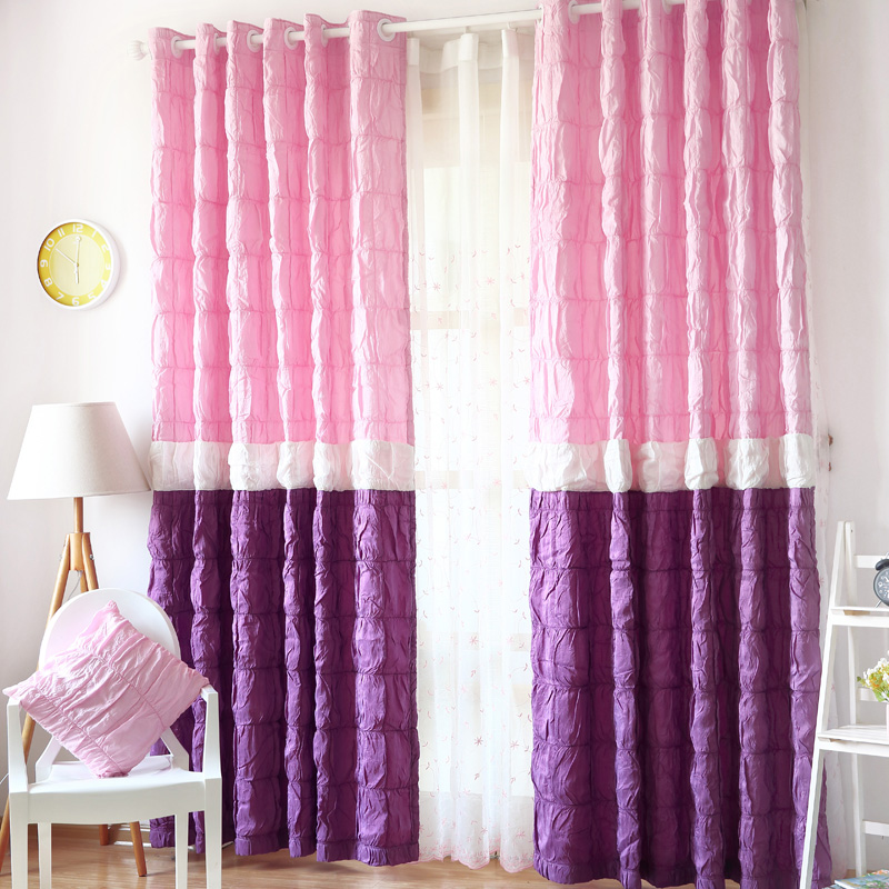 Curtain Home Pink Princess Curtains Blackout Outdoor