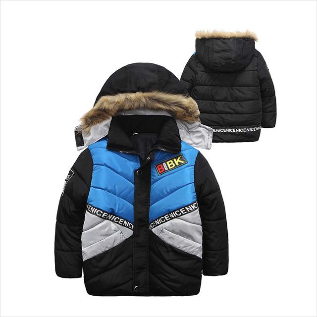 2017 boys Parka childen winter jackets for Boys down Jackets Coats warm Kids baby thick cotton down jacket cold winter