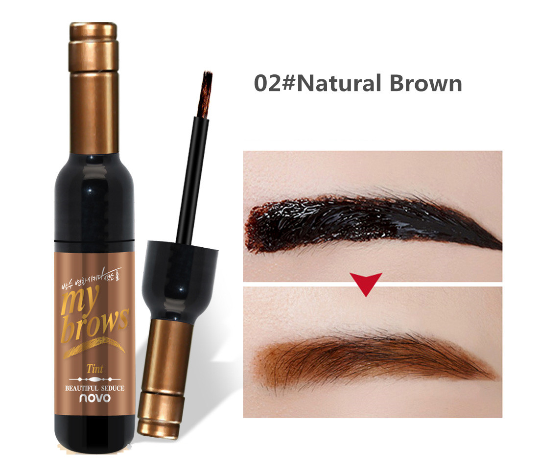 Lucky Xueyinzi New Cosmetics Eyebrow Gel Semi Permanent Tattoo Tinted Kill Brow Spidol Mascara Source Romantic Beauty Waterproof Color