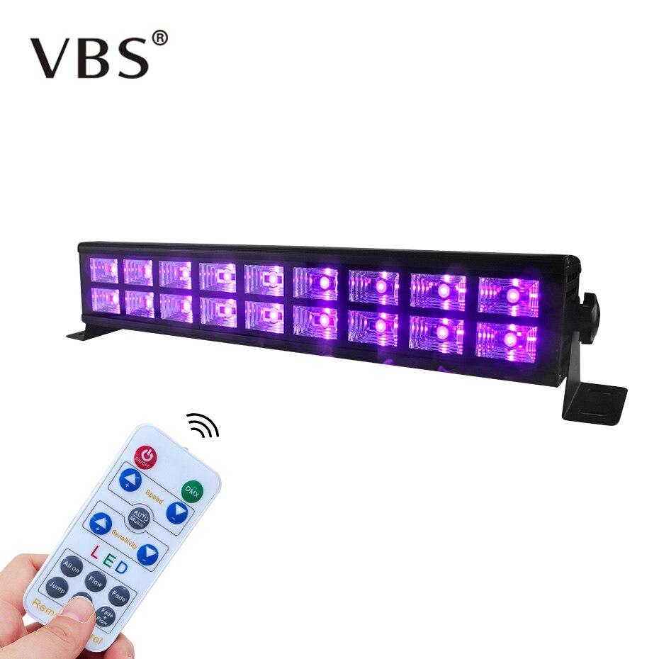 6LED 18LED Disco UV Black Lights DJ 27W/54W Par Lamp UV Party Christmas Bar Light Laser Stage Light UV Wall Washer Spotlight