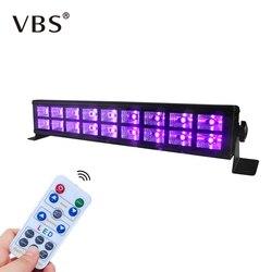 6LED 18LED Disco UV czarne światła DJ 27 W/54 W Par lampa UV Party boże narodzenie drążek led laserowe oświetlenie sceniczne UV typu wall washer reflektor