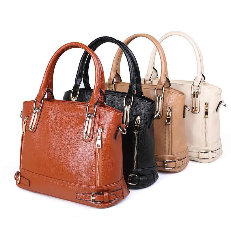 2018 femmes en cuir sac à main en cuir PU dames sacs de messager YF24