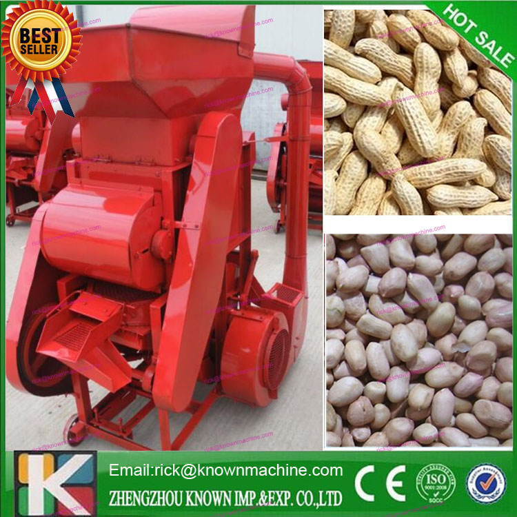 The Hot Sale Peanut Shucker/sheller/dehuller /arachide Shelling/hullingmachine With 600-800kg/h With Free Shipping By Sea