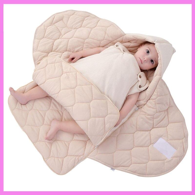 Newborn Infant Baby Cotton Blanket Wrap Sleeping Bag Sack Spring Autumn Baby Sleeping Sack Kangaroo Carrier Toddler Sleep Sack блуза sack s sack s mp002xw1akuy