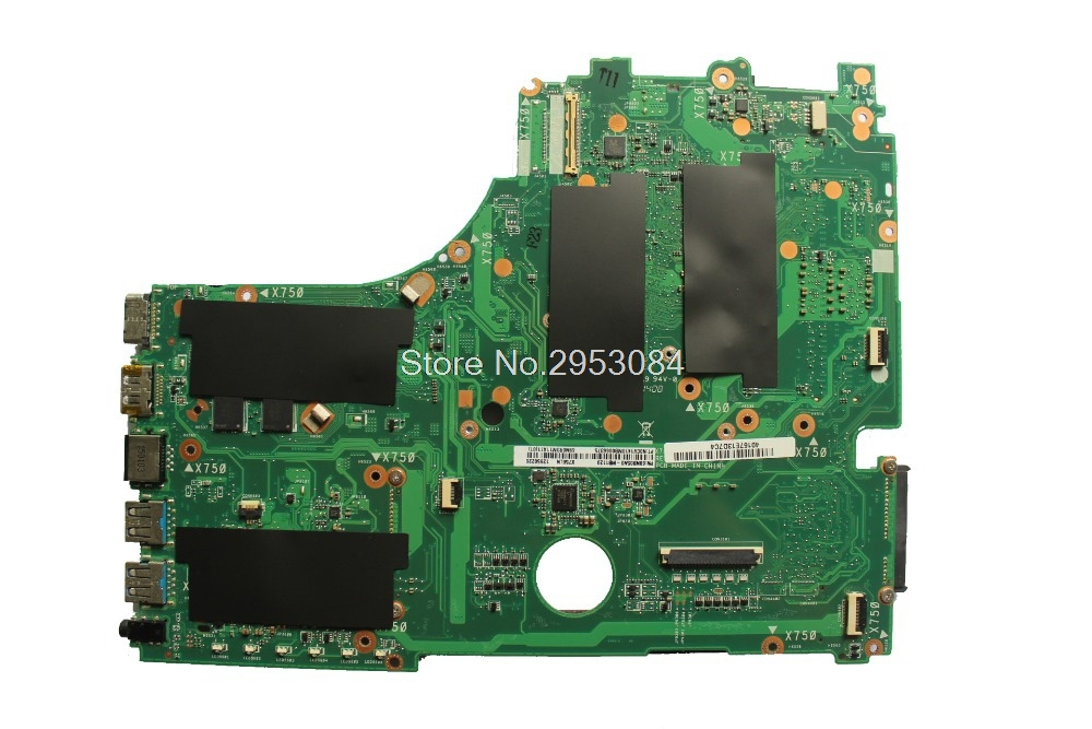 Pour ASUS X750LN X750LB X750L K750L A750L carte mère d'ordinateur portable avec GT740M/2 GB i7-4500U/I7-4510U 100% test ok - 5