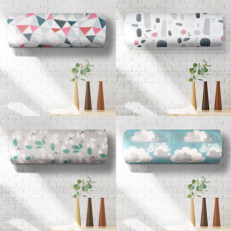 1 PCS Living Room Accessories Hanging Air Conditioning Tools Air Conditioning Cover Home Decor Mouldproof Dust Proof Covers