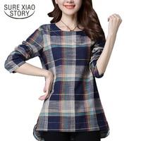 2017 New Autumn Casual Shirt Fashion Women Tops Long Sleeve Blouse Women Clothing Slim Shirt Women