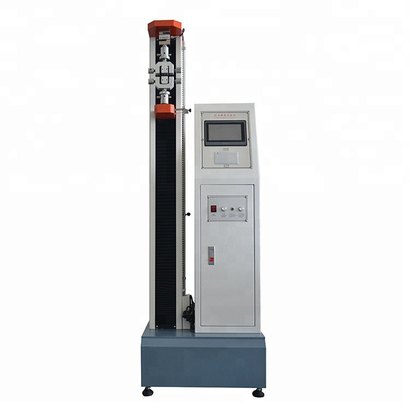 Floor Type Micro Computer Garment tensile strength measuring instrument Fabrics tearing testing equipment