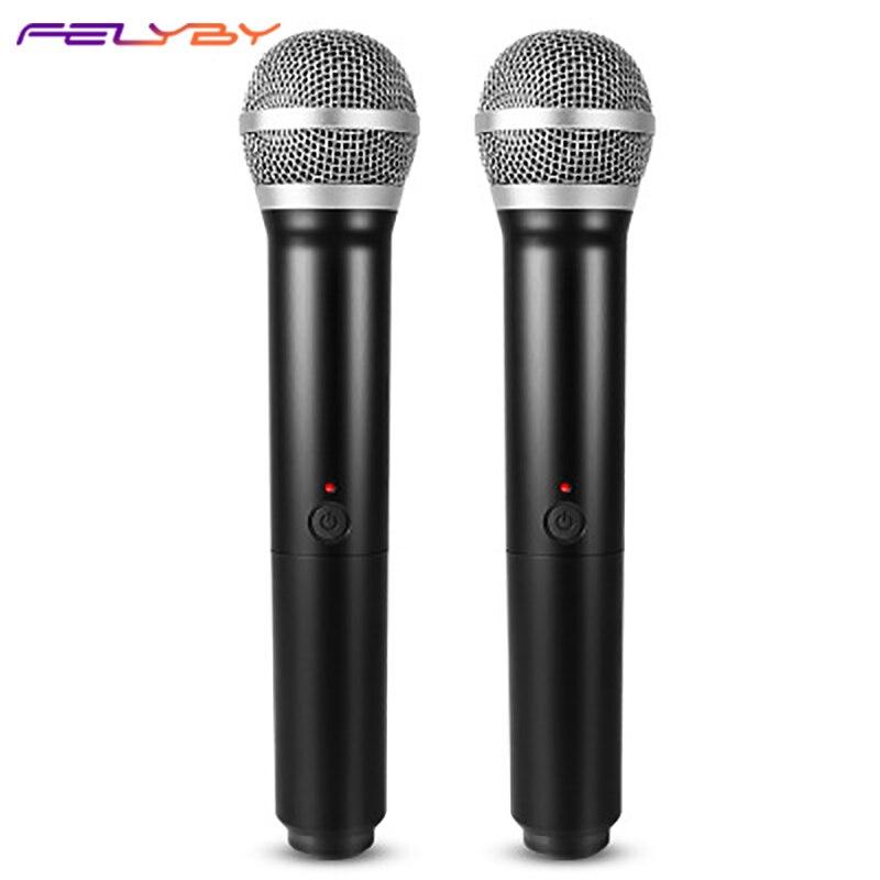 TV del computer karaoke microfono USB uno per due segmento U microfono senza fili di karaoke famiglia OKTV del computer karaoke microfono USB uno per due segmento U microfono senza fili di karaoke famiglia OK