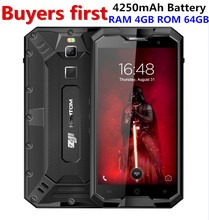 "HOMTOM ZOJI Z8 IP68 Wasserdicht 4G Smartphone 5,0 ""MTK6750 Octa-core Android 7.0 RAM 4 GB ROM 64 GB 4250 mAh 16MP OTG Handy"