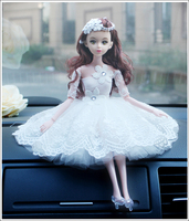 New Design Wedding Cake Topper Birde Dress Style Topper Figurines for Cake Decorating Girl's Car Decration Gfits Faovrs