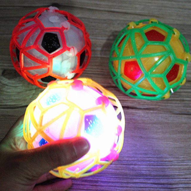 LED Jumping Toys Kids Music Ball Flashing Jumping Football Bouncing Dancing Ball for Children Dancing Toy Birthday Gift