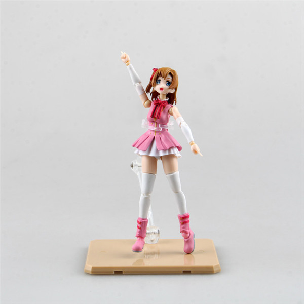 1PC 13cm New Cute S.H. Figuarts Love Live! School Idol Project Kousaka Honoka PVC Action Figure Collectible Model Toy newest arrival 1pcs anime love live 2 generation kousaka honoka sex style action pvc figure toy tall 22cm in color box