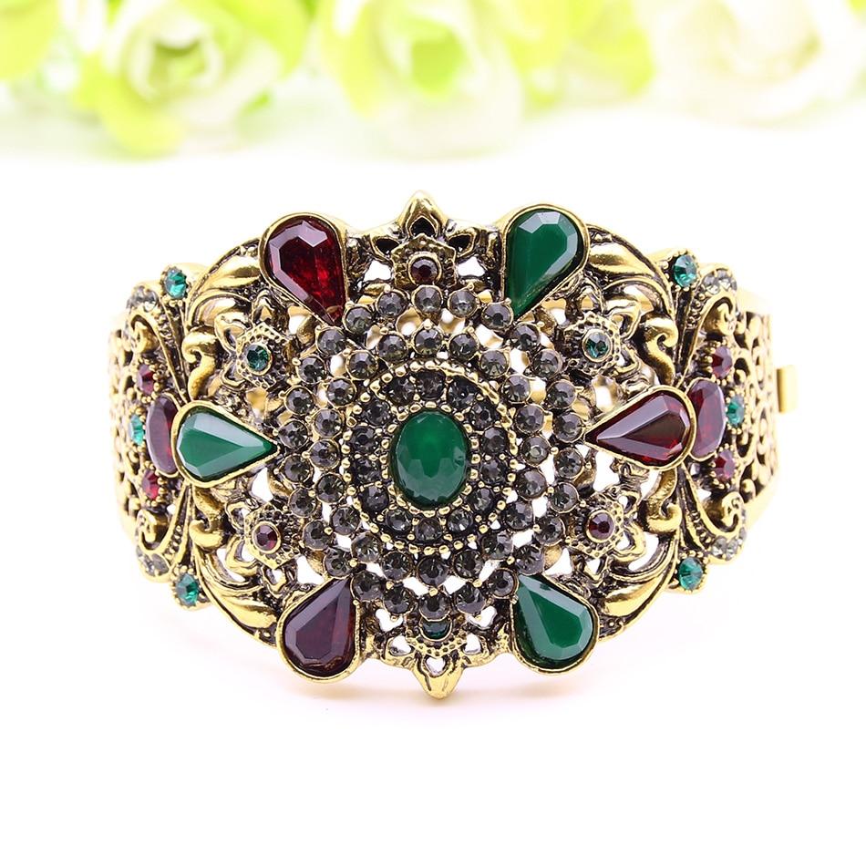 Expensive Gold Bracelet: Expensive Turkish Vintage Bangles Gold Plating Hollow Out