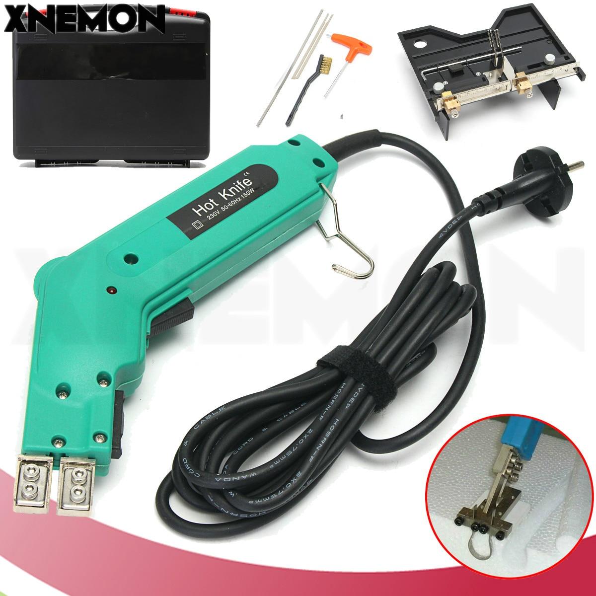 XNEMON Groove Electric Hot Knife Foam Cutter Hot Wire Styrofoam Craft Tool Cutting Grooving Heating Machine 220V Foam Cutting