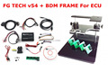 Top quality best price DHL free  100% FGTECH V54 fg tech galletto 4 Master v54 FG Tech BDM-TriCore-OBD+ FULL SET BDM FRAME