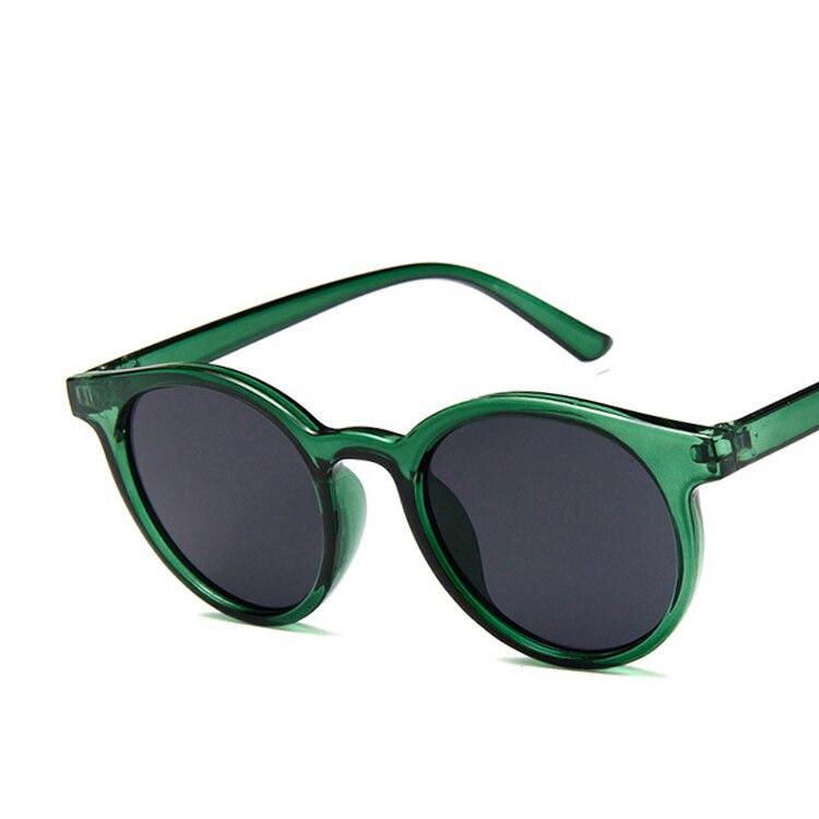 223a14e0a0 HAPTRON 2018 rojo redondo azul gafas de sol mujer marca diseñador de moda  rosa amarillo gafas de sol Retro Vintage tonos en Gafas de sol para mujer  de ...