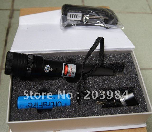 532nm High-power 1000mw green laser refers to star lights adjustable burn matches broken balloons game with safety lock