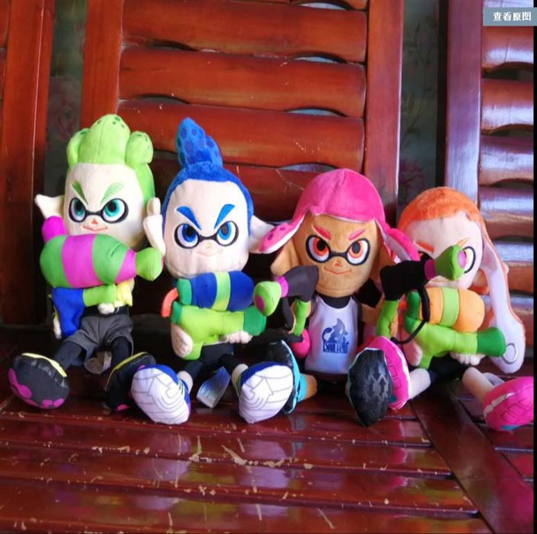 New Authentic Splatoon2  Judge-Kun Girl Inkling Boy Inkling Plush Toy  Gifts