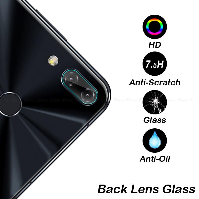 Back Camera Lens Tempered Glass For Asus ZenFone 6 5Q 5Z 5 Selfie Lite ZS630KL ZC600KL ZS620KL ZE620KL Protector Protective Film in Phone Screen Protectors from Cellphones Telecommunications