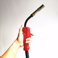 350A MIG Torch Panasonic Style 3meter Welding Gun Air cooled for MIG/MAG Welding Machine
