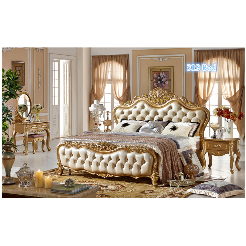 Baroque Fancy Bedroom Sets European Royal Style Bed Sets In Bedroom
