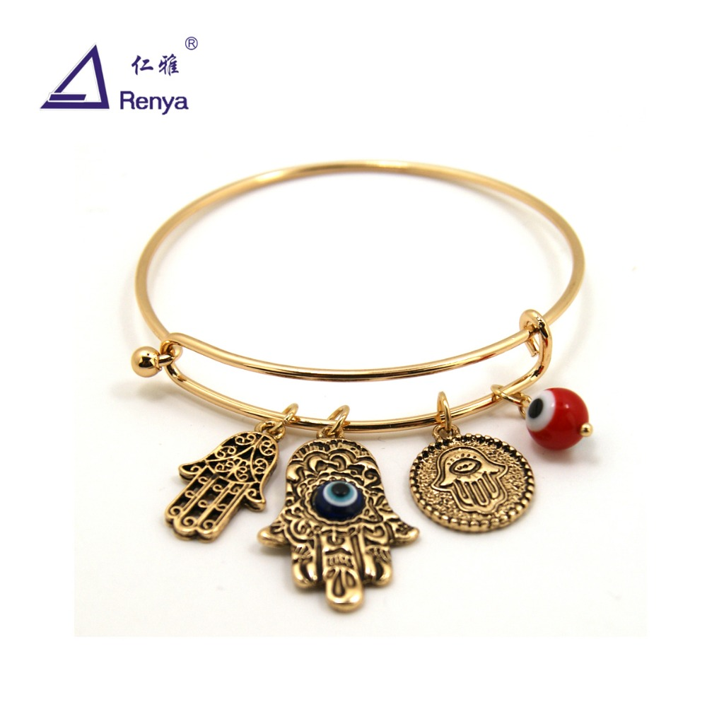 Renya Free Shipping Fashion Jewelry Adjustable Hand Charm Bracelet for All