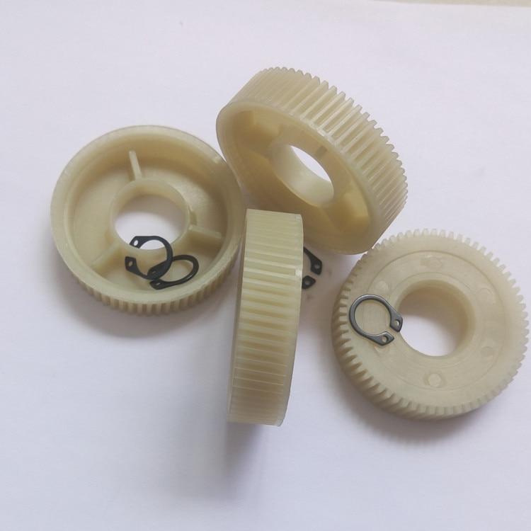 4pcs Car Door And Window Glass Lifter Motor Worm Gears Nylon PA66 Material Durable Window Motor Worm Gears