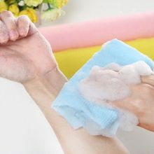 Новое поступление, длинная полоска, скруббер для спины, средство для мытья, чистая, богатое мыло, пузырчатое, для мытья, для сильного душа, отшелушивающее полотенце
