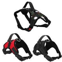 Adjustable Dog Harness With Pet Walking Hand Strap For Small To Large Dogs