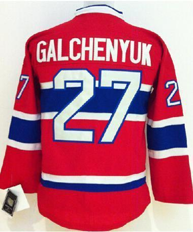 premium selection bdc5f 7d53b US $27.99 |Youth/Kids #27 Alex Galchenyuk Jersey Red Montreal Ice Hockey  Jersey Stitched Name And Number! on Aliexpress.com | Alibaba Group
