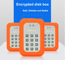 1 TB Hard Disk USB 3.0 to Sata 2.5″ Hard Disk case with 1 TB Capacity inside Encrypted Keyboard unlock Hard disk Enclosure