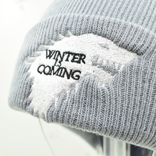 Winter is coming Dire Wolf Warm Knitted Beanie