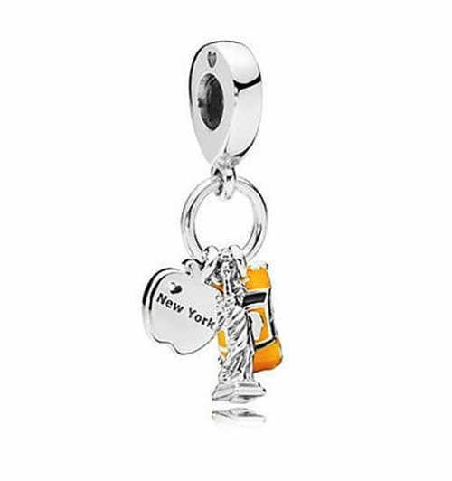 Лидер продаж разноцветными бусинами с Микки Маусом Мышь клубника Bee Подвески в виде Листьев Бусины Fit Пандора Браслеты браслеты для Для женщин DIY подарок