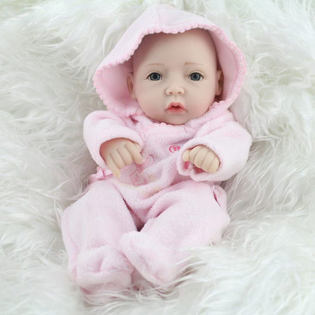 Free Shipping 12 Inch Life Like Alive Baby Dolls Little