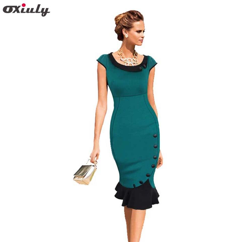 Oxiuly 2014 Newest Women Elegant Top quality cotton Blend Fashion ...