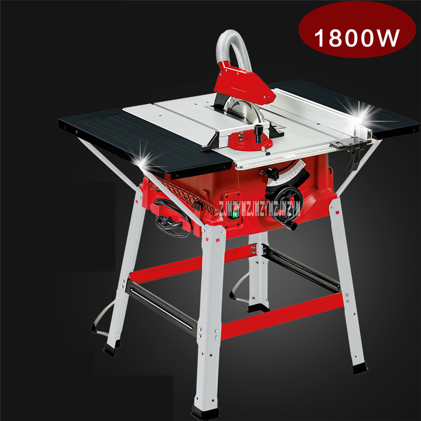 M1H-ZP2-250 Multifunction Woodworking Table Saws 10 Inch Sliding Table Saw Push Plate Saw Angle Cut Circular Saw 220V/50HZ 1800W