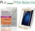 NEW Full Tempered Glass For Meizu U10 Smartphone 2.5D+9H Anti-explosion Full Cover Screen Protector Film For Meizu U10 in stock