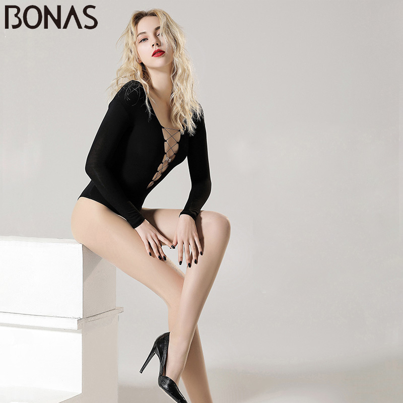 BONAS 7pcs / lot 15D Medias de terciopelo ultrafinas atractivas Mujeres Pantimedias transpirables superelásticas Señora Medias resistentes al desgarro Mujer