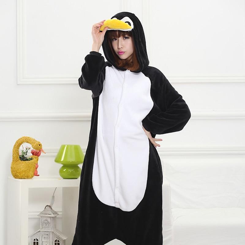 Image 5 - Anime Kigurumi Zebra Onesie Adult Women Sleepwear Costume Animal Bat Pajamas Flannel Warm Loose Soft Nightgown Cosplay Pyjama-in Pajama Sets from Underwear & Sleepwears