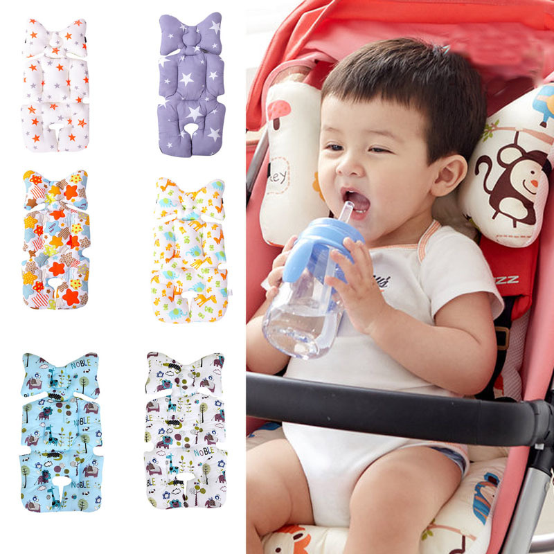 0 5 Year Infant Playmat Kids Carpet Baby Play Mat Baby Stroller Cotton Cushion Seat Breathable Soft Booster Seat Baby Seat Pad in Play Mats from Toys Hobbies